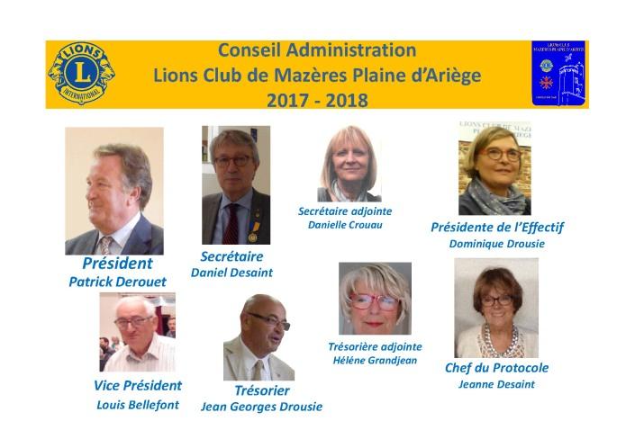 CA Club de Mazères Plaine d_Ariège 2017-2018